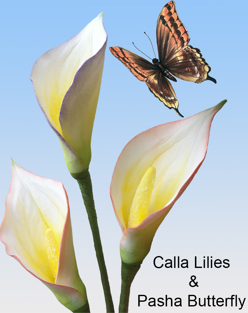 Calla Lily Cutters 3 Sizes World Of Sugar Art