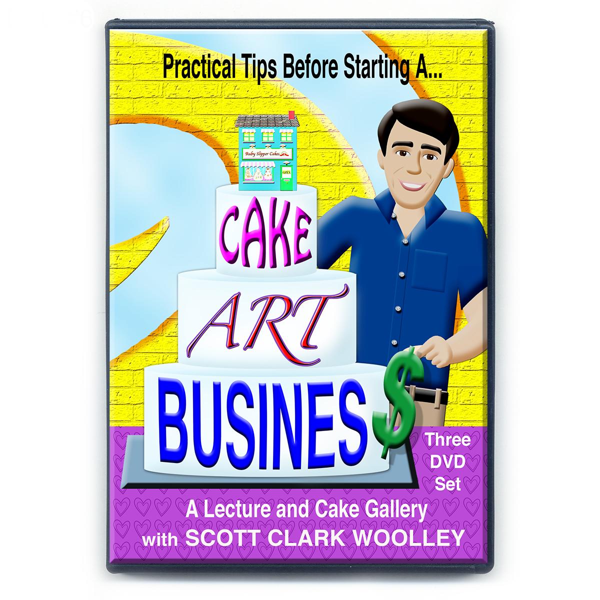 DVD#6   Cake Art Business   World of Sugar Art
