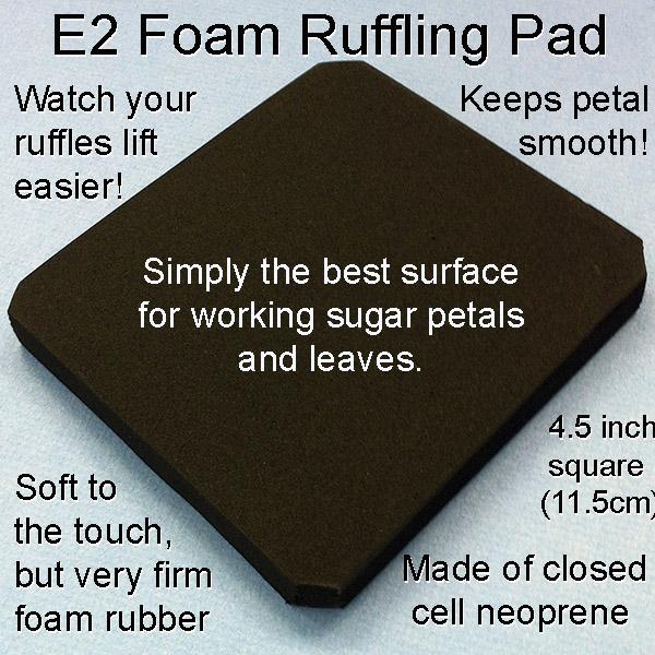 Foam Ruffling Pad
