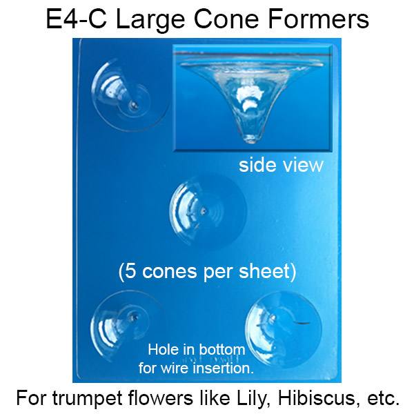 Large Cone Formers