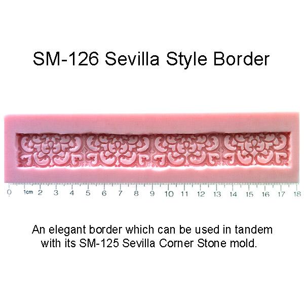 Sevilla Border Mold