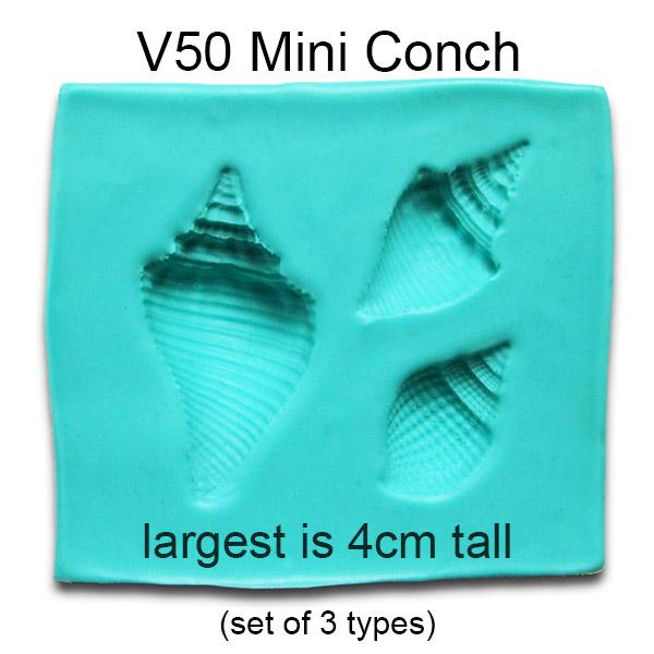Mini Conch Molds