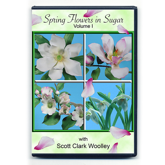 Dvd8 spring flowers in sugar world of sugar art linked flower names direct you to the product used in its creation in each video mightylinksfo